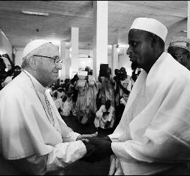 El Papa Francisco, en Bangui