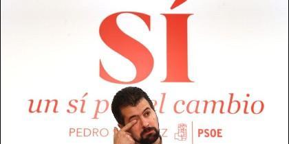 Luis Tudanca, Secretario General del PSOE en Castilla y León