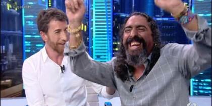 Pablo Motos y Diego El Cigala.