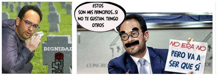 Memes sobre Rafa Hernando.