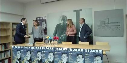 Imagen de la presentación de las actividades y programación del Jazz Palencia 2016