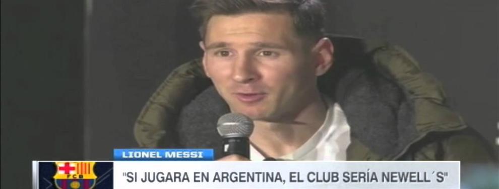 Un nuevo impedimento para la marcha de Messi a Newell´s tras el Mundial de Rusia