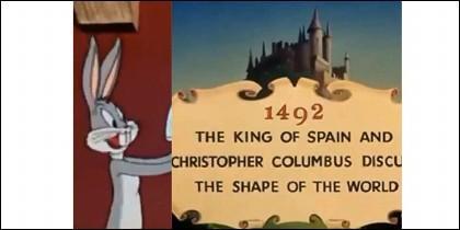 Bugs Bunny y el cartel de la discordia.
