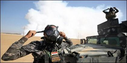 Nube tóxica en Irak