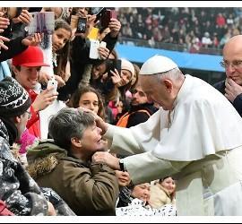 El Papa Francisco, en Suecia