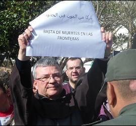 Santiago Agrelo se manifiesta a favor de los refugiados