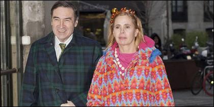 Pedrojota Ramírez y Ágatha Ruiz de la Prada.