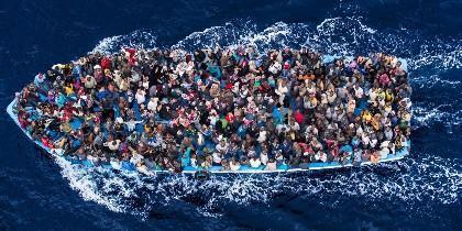 Los muertos en el Mediterráneo