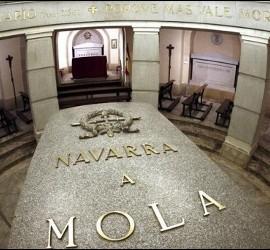 La tumba del general Mola