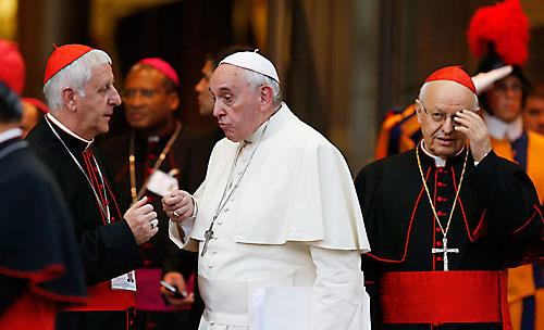 Versaldi, con el Papa Francisco