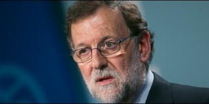 Mariano Rajoy, presidente del Gobierno de España y líder del PP.