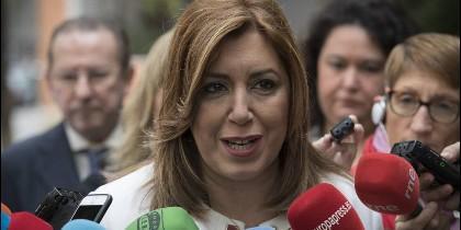 Susana Díaz, presidenta de Andalucía (PSOE).