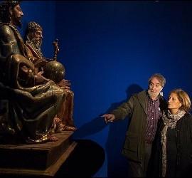 Dos visitantes a la exposición de Las Edades del Hombre en Toro