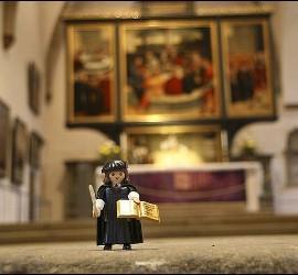 Figurita Playmobil de Lutero