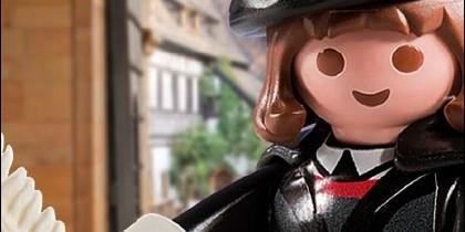 Lutero, como figurita de Playmobil