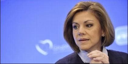María Dolores Cospedal (PP).