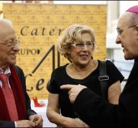 Osoro, Carmena y el Padre Ángel