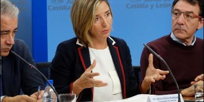 Alicia García, Consejera de igualdad en la Junta de Castilla y León
