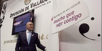 Jesus Julio Carnero, Presidente de la Diputación de Valladolid