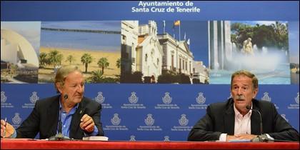 Ángel Isidro Guimerá y Guillermo Guigou.