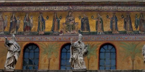 Friso de Santa María el Trastevere