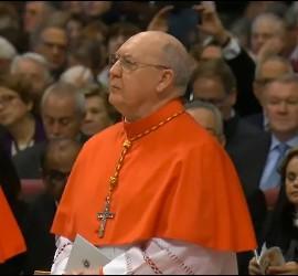 Kevin Farrell, nuevo cardenal de la Iglesia