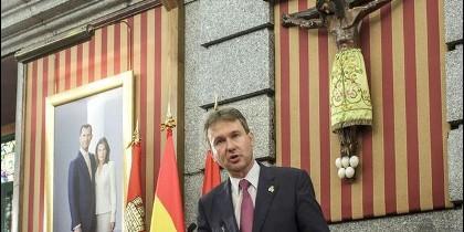 Javier Lacalle, Alcalde de la Ciudad de Burgos