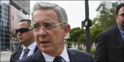 Alvaro Uribe, expresidente de Colombia.