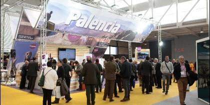 Imagen del stand de Palencia en la última edición de INTUR