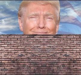 Donald Trump y su muro.