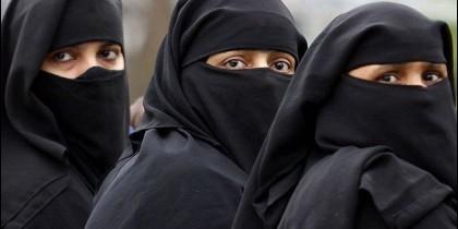 Mujeres con burka.