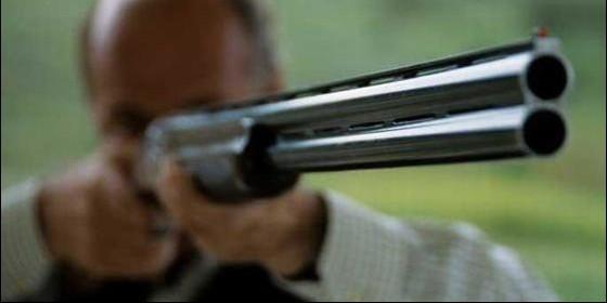 Escopeta, disparo.