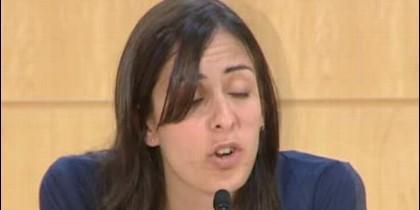 Rita Maestre, portavoz del Ayuntamiento de Madrid (PODEMOS).