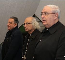Obispos en la reunión del SEDAC en Ciudad de Guatemala
