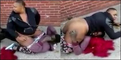 El intento de violación
