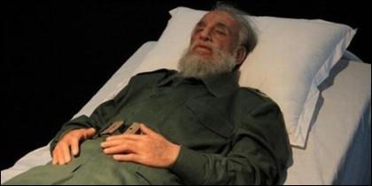El cadáver de Fidel Castro, expuesto en La Habana.
