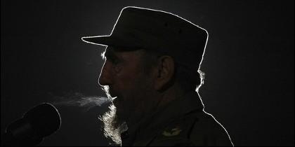 Fidel Castro, dictador de Cuba durante 57 años.
