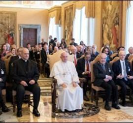 El Papa, con la Pontificia Academia de las Ciencias