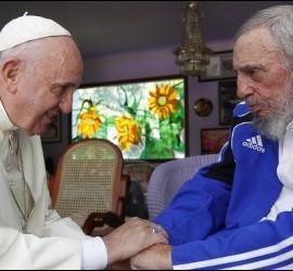 Fidel, con Francisco