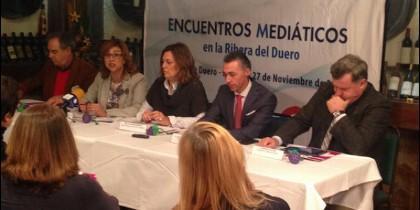 Jornadas mediáticas en Ribera del Duero.