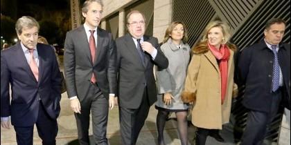 Juan Vicente Herrera junto a Iñigo de la Serna, nuevo Ministro de Fomento