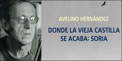 Avelino Hernández y captura de la portada de su libro.