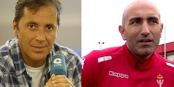 Paco González y Abelardo.