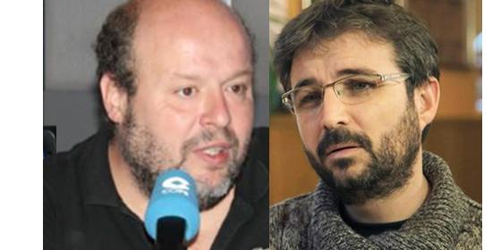 Salvador Sostres y Jordi Évole.