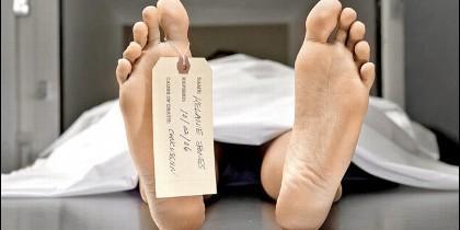 Muerte, cadáver. morgue, difunto.