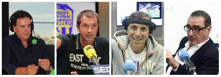 De la Morena, Carreño, González y Herrera.