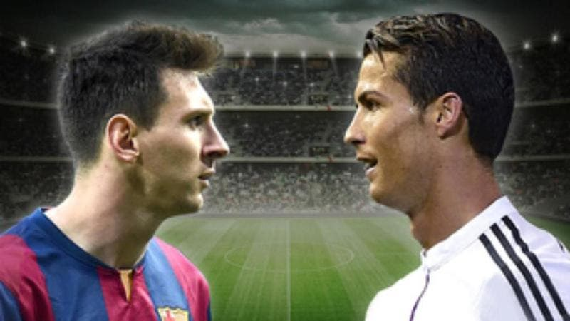 Leo Messi vs Cristiano Ronaldo.