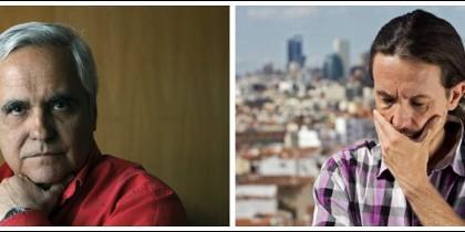 Juan Cruz y Pablo Iglesias.