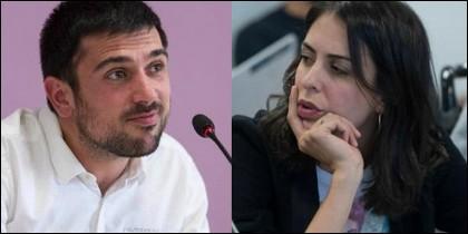 Ramón Espinar, Rita Maestre y 'Los Garrotazos' de Goya.