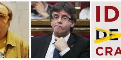 Ramón de España, Carles Puigdemont y la portada de 'Idiocracia'.
